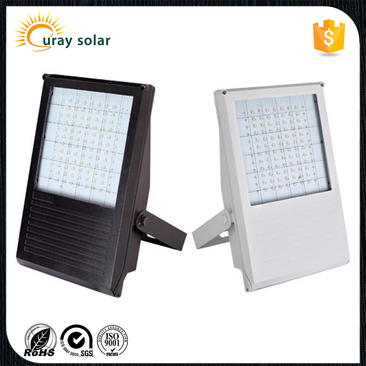 high power aluminum waterproof ip65 7w solar panel outdoor all in one solar led flood light