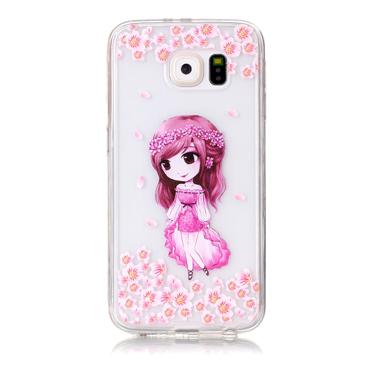 Fashion color transparent cheap mobile phone cover for Samsung