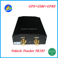 Global Real-time Mini Vehicle GPS Tracker With Free Google Maps