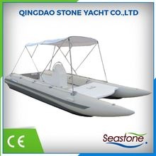 High Speed Inflatable Boat Catamaran Hull For Sale