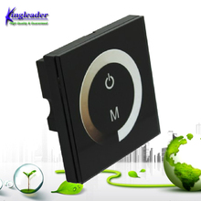 Touch Wall Mounting Panel led touch dimmer switch Controller, 12V/6A