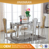 2016 cheap marble used dining room furniture for sale
