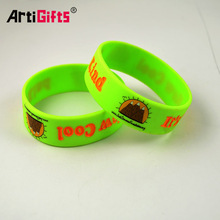 thin silicone bracelet for kids