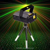 Mini LED R&G Laser Projector Stage Party Club Lighting Adjustment DJ Disco Light
