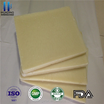 high quality pure white beeswax