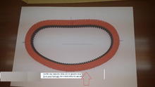 t2.5 belt polyurethane belt with steel core belt with 6mm 20m length for cnc machine