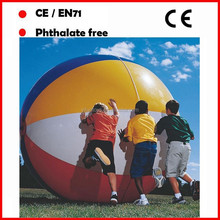 High quality 2M giant beach ball big beach ball inflatable big beach ball