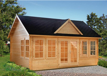 garden wood movable log cabin