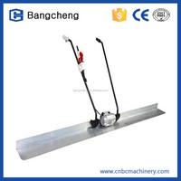 gasoline concrete floor level machine/concrete vibrator screed with CE
