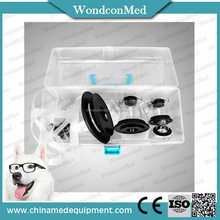 Wondcon Black anesthesia mask for dog,cat,animal with ISO