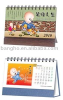 2013 cartoon table calendar