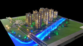 Real estate model making 1 200 scale residential for Apartment building maker