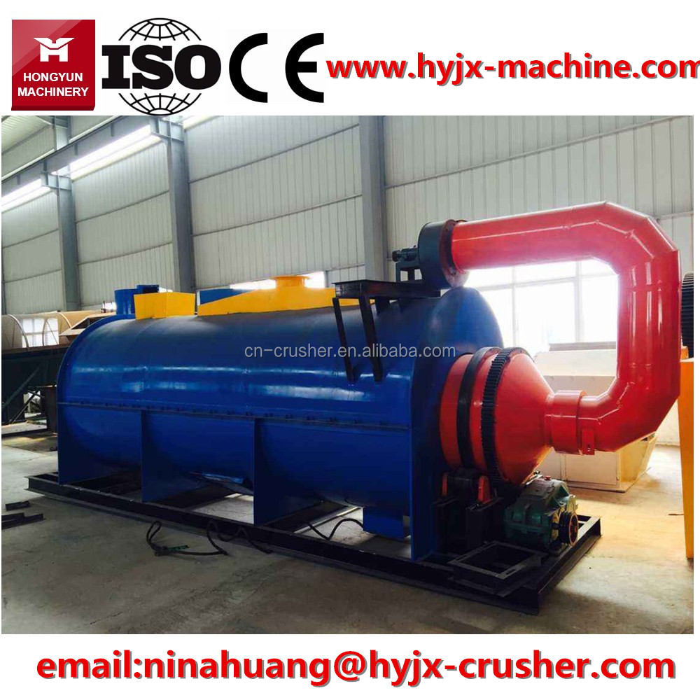 Independent R&D 1--20 t/h casting industry sand rotary drum dryer for sale