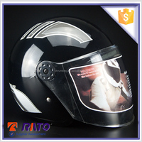 Handsome unique black motorcycle abs helmets factory price