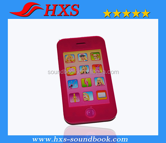 Hot Selling High Quality Toy Smart Musical mobile Phone for Children