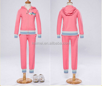 fashion hoodies velour tracksuit for girls tracksuit jogging sport suits
