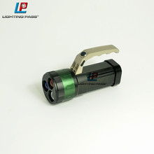 Different color lens flashlight with high power flashlight