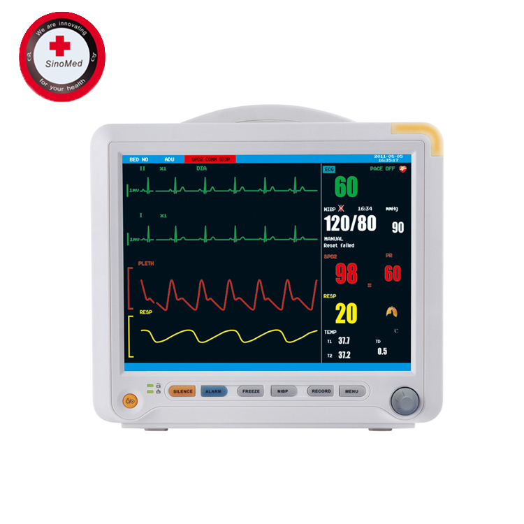 SINO-8000B 12.1 inch Touch Screen Multi-Parameter Patient Monitor Price