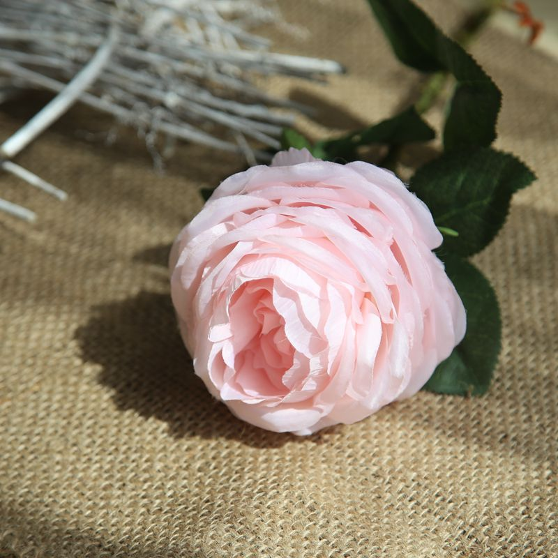 China Factory Wholesale Silk Flowers Artificial Rose Silk Bridal
