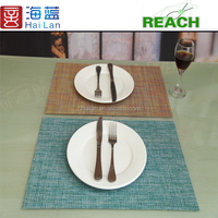 vinyl place mat textile material fabric pvc coated table cloths