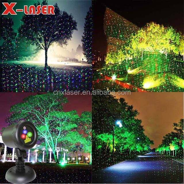 sparkle spot light christmas star show holiday light decorations laser projector