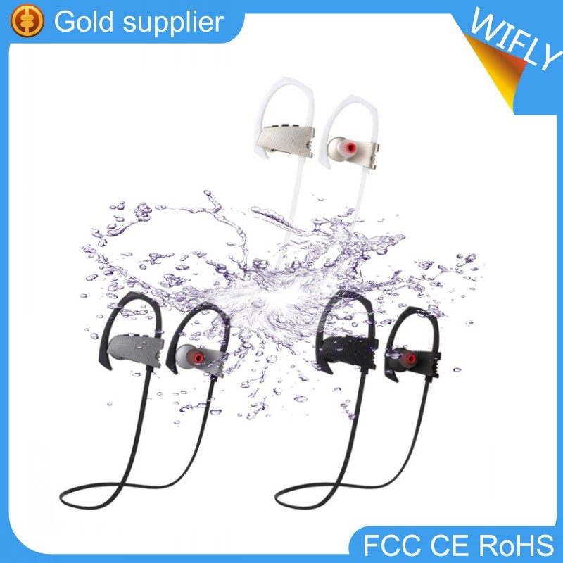 Waterproof IPX4 Wireless Headphones Bluetooth Sports Headphone Amplifier With Noise Canceling CVC6 Stereo Free Your Hands