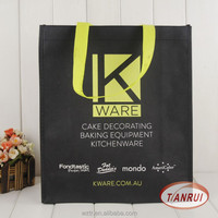 2016 recycle custom PP laminated non woven fabric carry bag with low price