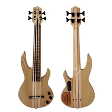 Aiersi Electrical Ukulele Bass with solid ash wood bass ukulele solid