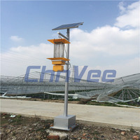 Solar Powered Light Control Pest Killer insect light traps