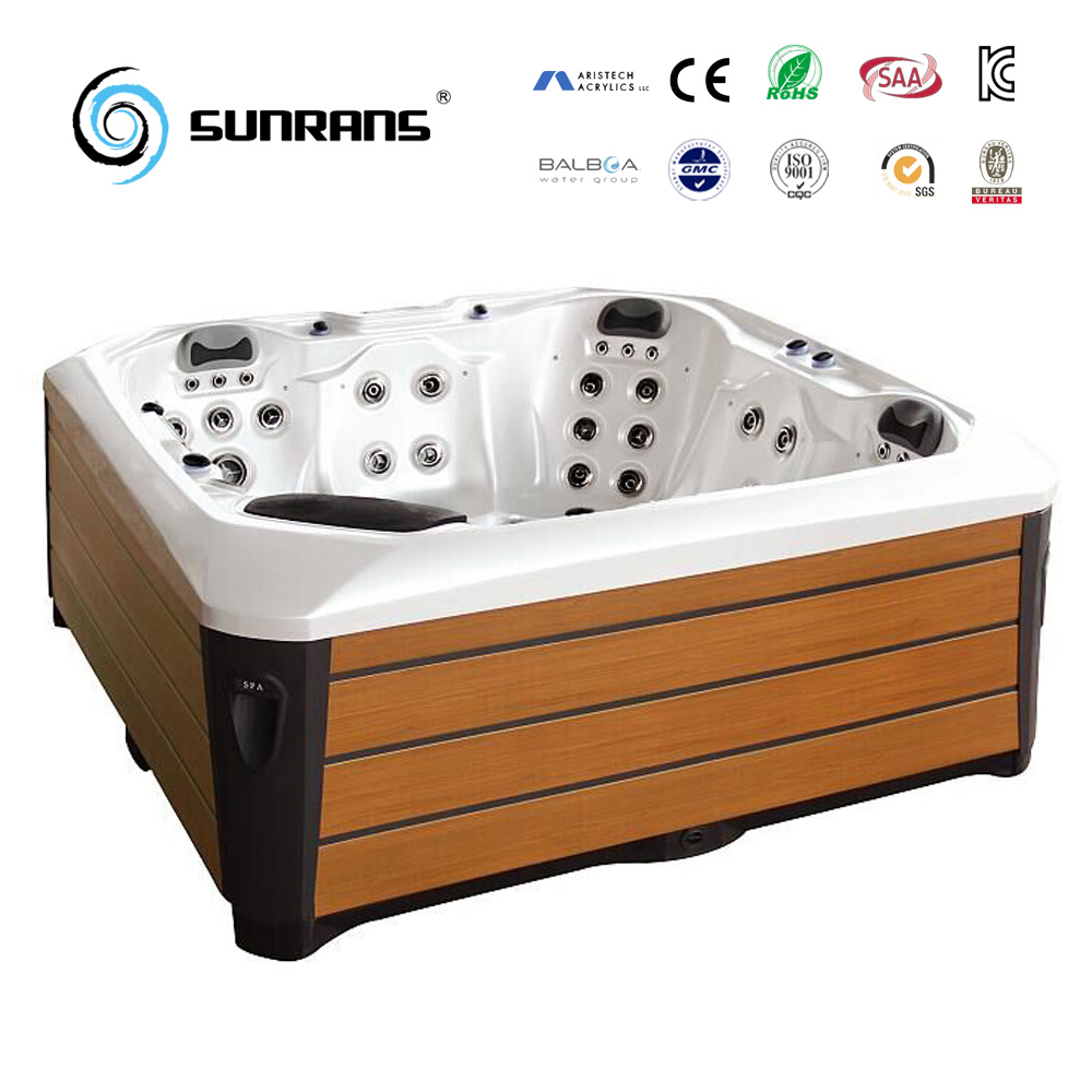 Sunrans Hot Sale High-Quality Balboa Acrylic SPA Outdoor Hot Tub for 5 people