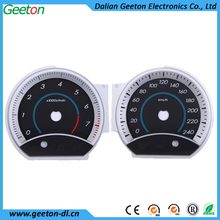 Custom Screen Printing PC 3D Auto Instrument Panel Tachometer Faceplate
