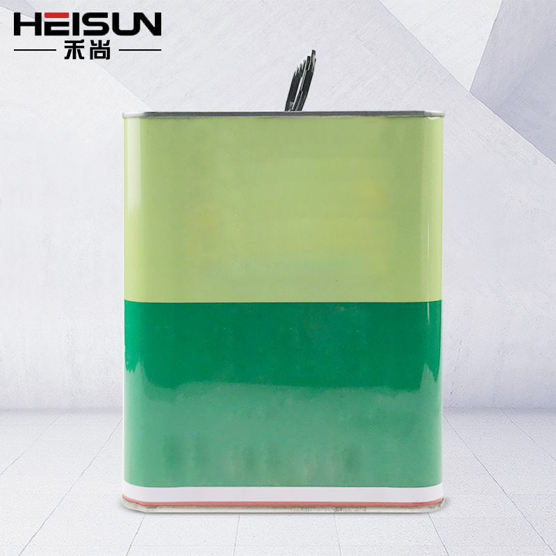 manufacturers wholesale2.7L the square tin bucket/ can with lever lid and handl transport packaging for all-purpose adhesive