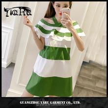 young girl sleeveless strap casual sexy short dress new design 2017 guangzhou manufacturer