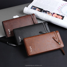 Baellery Men Business PU leather wallet for young man