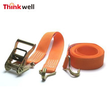 5000kgs 50mm Cargo Lashing Tie Down Strap with Hook