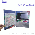 Custom Lcd Greeting Card New products 7 inch video booklet