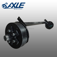 Rubber Torsion Trailer Axle with Electric Brake 500kg
