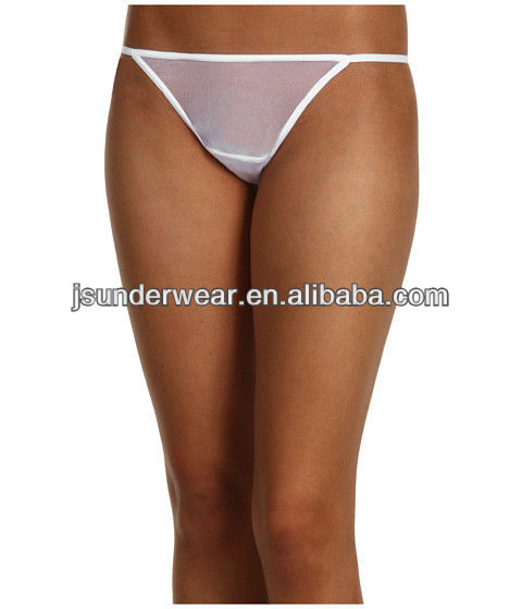 Transparent Cloth Sexy Women's T-back Underwear,Hot Sexy Thongs