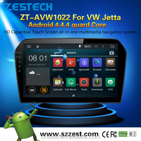 china factory cheap car dvd player for VOLKSWAGEN JETTA with android 4.4.4