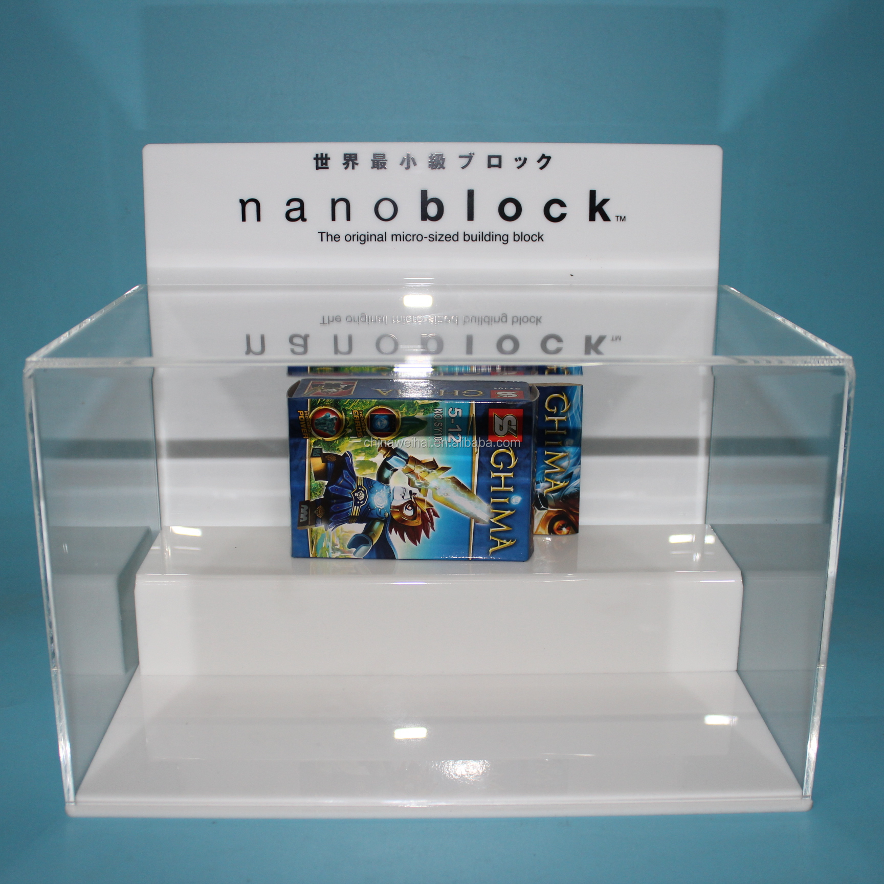 Acrylic Nano Block Display Stand