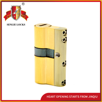 Security Double-sided 6-curve cylinder lock for door