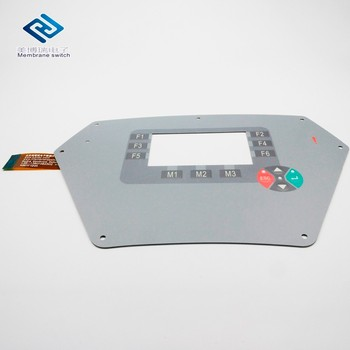 FPC Circuit Fanuc Keypad Membrane Switch With Tactile Embossed Button
