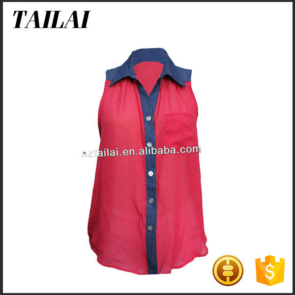 Wholesale clothing Top-end Smart Design women blouses and tops