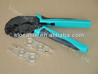 cable lug hydraulic MC4 terminal crimping tool