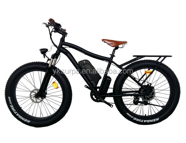 "26""*4.0inch 500W 8fun motor samsung cell battery fat tire electric chopper bike"