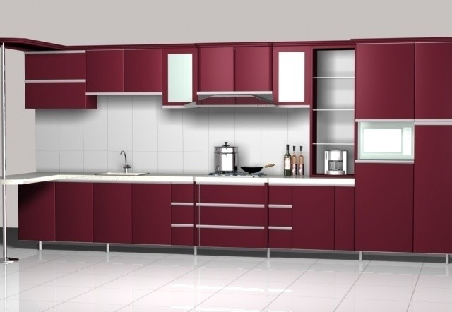 New Design Hotel Apartment Furniture Modular Kitchen Cabinet Color Combinations Buy Solid Wood