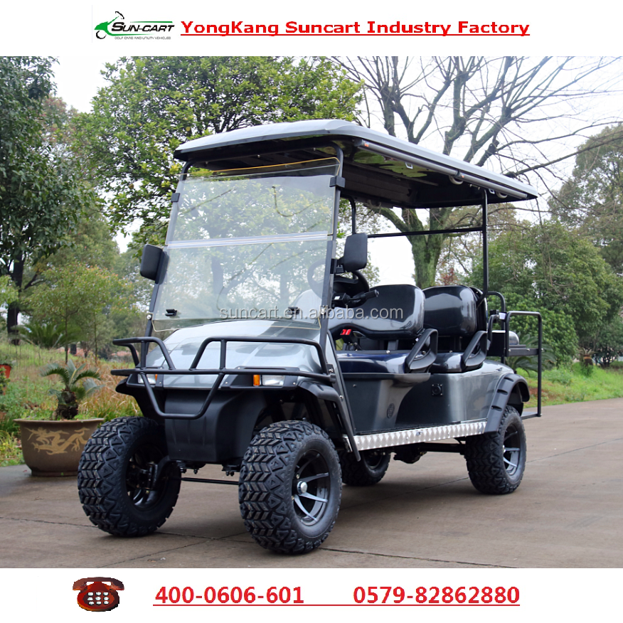 CE certification Customized 6 seats golf cart ,good quality,electric vehicles for sale
