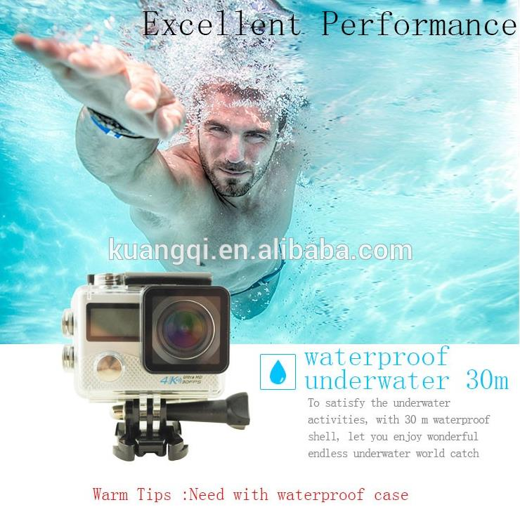 Brand new outdoor mini wifi panoramic action camer hd weatherproof sports dv mini wifi sports action camera