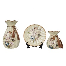 Home decor hand painted luxury antique chinese porcelain vase for sale