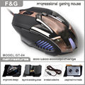 Latest 6d Optical Wired Gaming Mouse with weighted iron